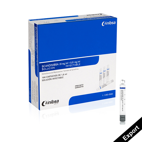 SCANDINIBSA 20 mg/ml + 0.01 mg/ml injectable solution