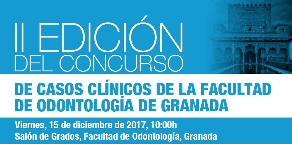 Nueva edición del Concurso de Casos Clínicos de la Facultad de Odontología de Granada