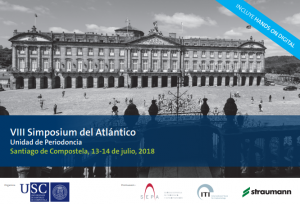 VIII Simposium del Atlántico - Santiago de Compostela